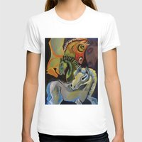 horses T-shirts featuring Horses  by JackieOCreations