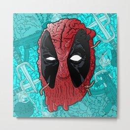 Been Deadpool Awhile  Metal Print