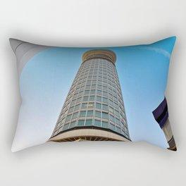 BT Post Office Tower Fitzrovia London England Rectangular Pillow