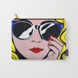 Pop Art Glamour Girl Carry-All Pouch