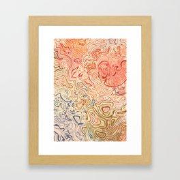 Rock Pool Framed Art Print