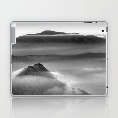 Mist at the mountains. Laptop & iPad Skin