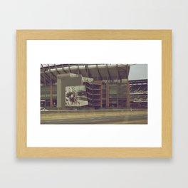 Stadium Framed Art Print