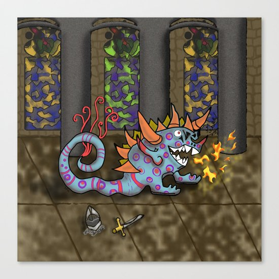 The Doodlethwumpus Canvas Print