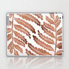 Fern Leaf – Rose Gold Palette Laptop & iPad Skin