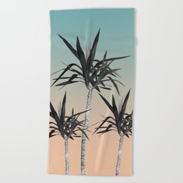 Palm Trees - Cali Summer Vibes #7 #decor #art #society6 Beach Towel