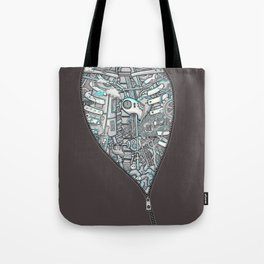 Crazy on the Inside Tote Bag