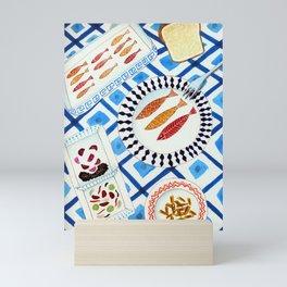 Greek Feast Mini Art Print