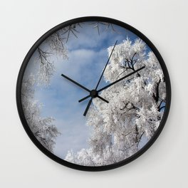In the Frosty Air Wall Clock