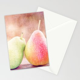 LOVING PEARS Stationery Cards