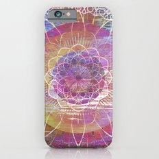 Glitch Mandala iPhone 6s Slim Case