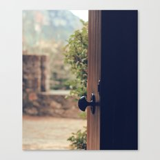 the door of the past Canvas Print