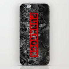 punkrock made me do it iPhone & iPod Skin