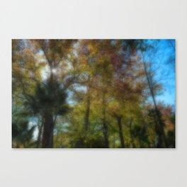 dreamy park Canvas Print