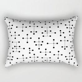 Atomic Era Dots 99 Rectangular Pillow