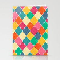 morocco Stationery Cards featuring Morocco Bright by Jacqueline Maldonado