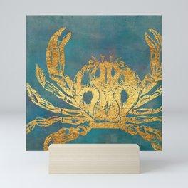 Deep Sea Life Crab Mini Art Print