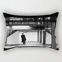 Awaiting Rectangular Pillow