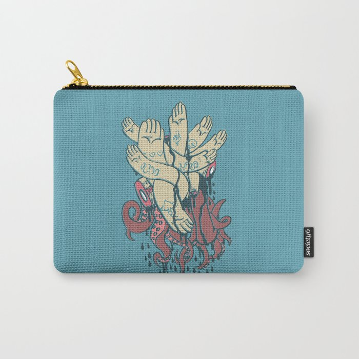 hands! print Carry-All Pouch