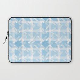 Blue Patchwork Plaid Laptop Sleeve