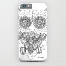 Angelina Bowen Fine Art Print- Owl iPhone 6s Slim Case