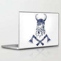 viking Laptop & iPad Skins featuring Viking by Spiro Vasilevski