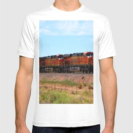 Orange BNSF Engines T-shirt