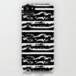 Black Landscape Beauty iPhone Case