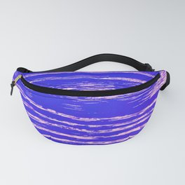 Dawn's First Light Abstract Design Fanny Pack