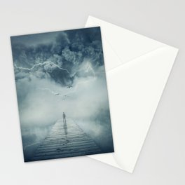 into the storm Stationery Cards