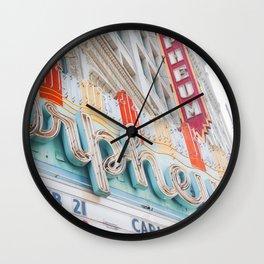 Orpheum Marquee Wall Clock