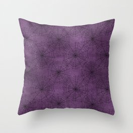 Cobweb Pattern Throw Pillow