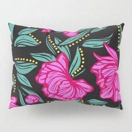 Fuscia Floral Pillow Sham