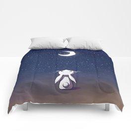 Moon Bunny Comforters