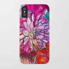 Garden of Dahlias iPhone Case