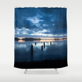 Five Posts Shower Curtain