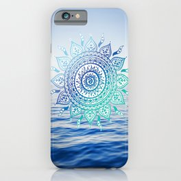 Sea Mandalla iPhone Case