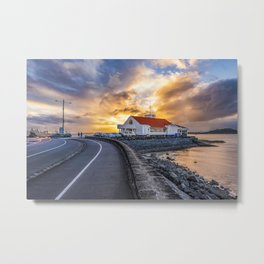 Tamaki Yacht Club, New Zealand Metal Print