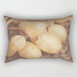 White Muscat Grapes Rectangular Pillow