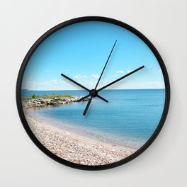 AFE Tommy Thompson Park 2, Beach Photography Wall Clock