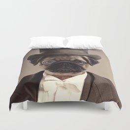 (Very) Distinguished Dog Duvet Cover