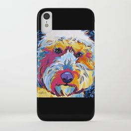 Sunshine the Goldendoodle iPhone Case