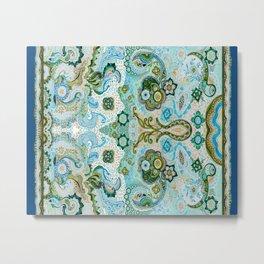 Flower Mosaic - by Fanitsa Petrou Metal Print