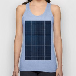Solar Panel Pattern (Color) Unisex Tank Top