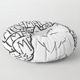 It's not Me, it's Mew. Floor Pillow