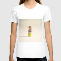 macaroons T-shirts featuring Macaroons  by Caroline Mint