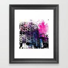 Ciudad #1 Framed Art Print