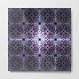 Tile Flooring on Mount Olympus Metal Print
