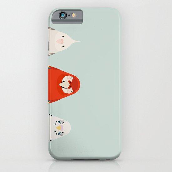 Three birds - tori no iro iPhone & iPod Case