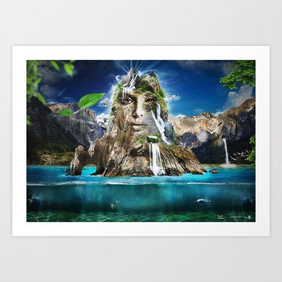 Beyond Nature Art Print